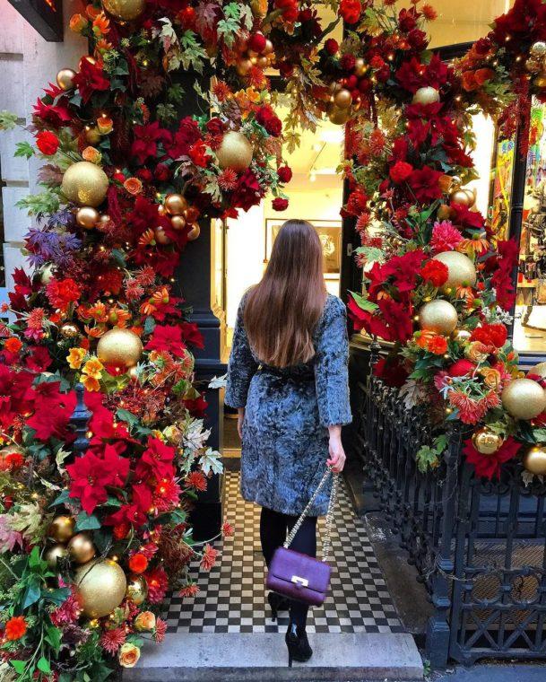 Цветы на входе