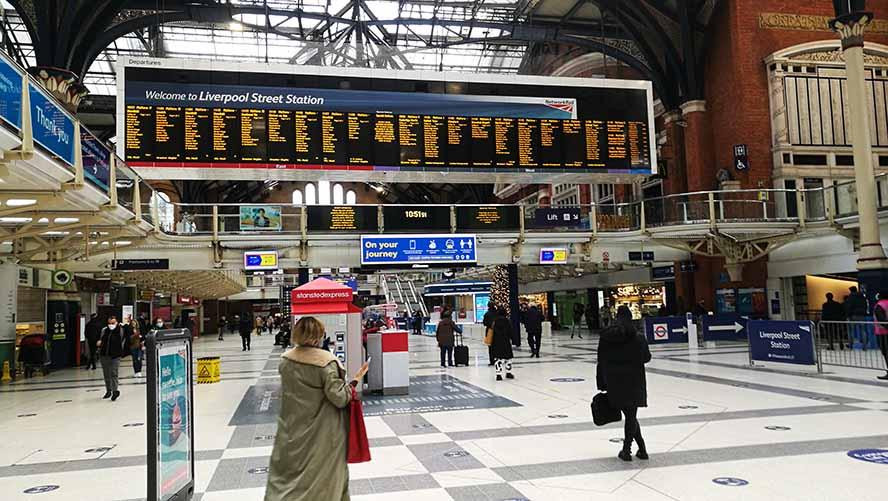 Ливерпуль стрит вокзал